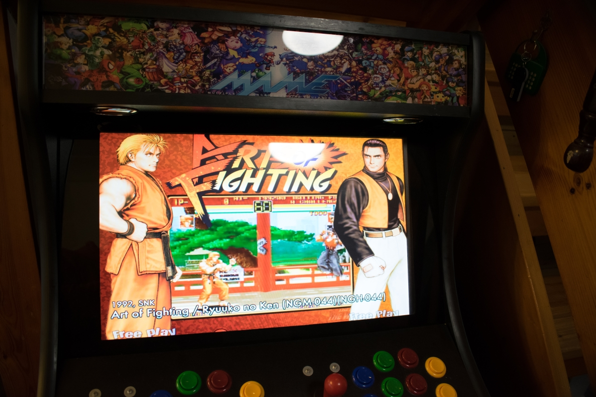 Arcade Game Art of Fighting